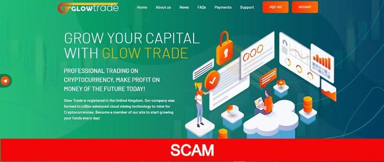 glow-trade.com hyip site review
