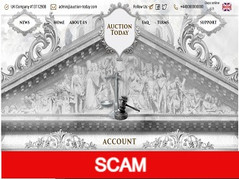 Auction-today.com Review (SCAM) : 0.20% - 1.80% daily for 15 - 30 days