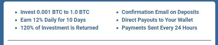 tendaybtc.com investment details