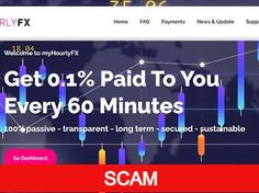 Myhourlyfx.com Review (SCAM) : New Hyip Site 0.10% Hourly For 50 Days
