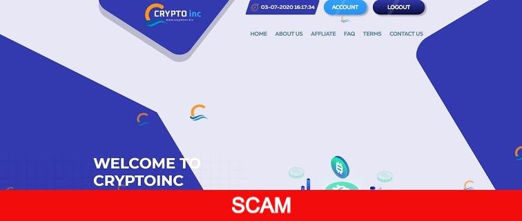 cryptoinc.biz new hyip online investment site