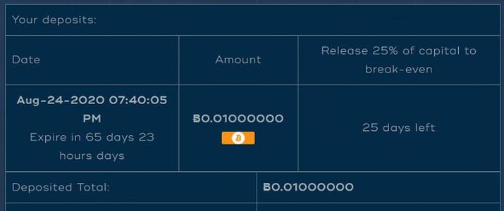 cashbox.ai deposit details