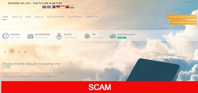 invcome.com profitable hyip site