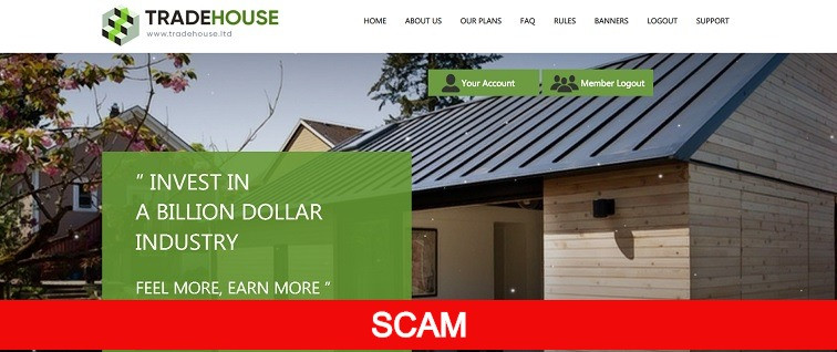 tradehouse.ltd hyip site review
