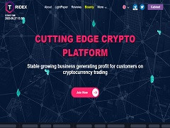 Tridex.io Review : Online investment 2% - 4% Daily Profit Income