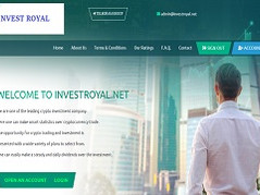 Investroyal.net Review (SCAM) : 7% - 20% Daily For Lifetime