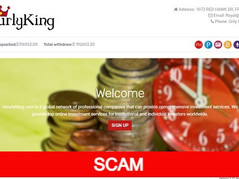 Hourlyking.com Review (SCAM) : New Hyip Site Up to 1% Hourly Forever