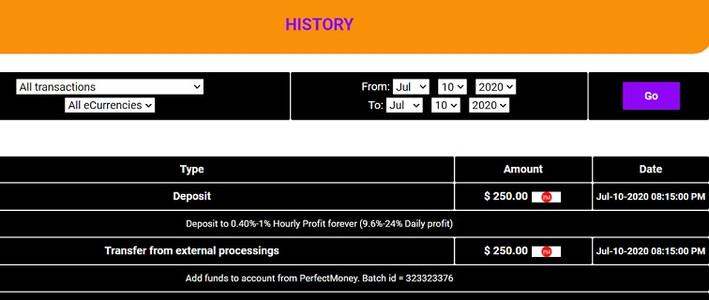 gainexbank.com new hyip investment proof