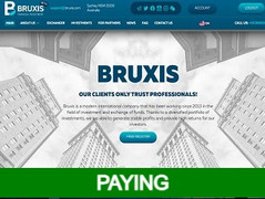 🥇Bruxis.com Review : 1% - 5% daily for 21 - 185 days