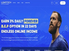 Loantech.top Review: Hyip Site 3% Daily Payout Forever