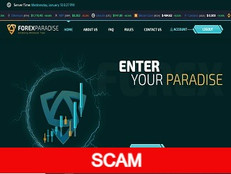 Forexparadise.net Review (SCAM) : Up to 50% hourly income