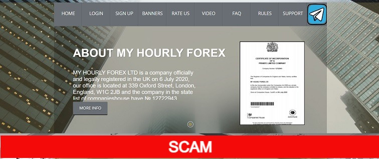 Myhourlyforex.com new hourly hyip site
