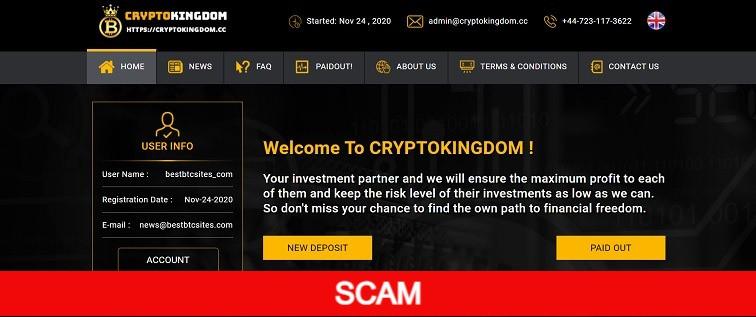 cryptokingdom.cc new hyip site review