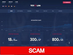 Techlink.cc Review (SCAM) : Up to 6% hourly for lifetime