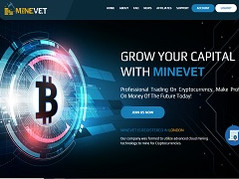 Minevet.com Review (SCAM) : New hyip 0.08% - 1% hourly profit