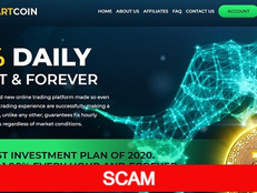 Smartcoin.ltd Review (SCAM) : New Hyip 10% - 24% daily forever   Hourly accruals