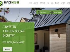 Tradehouse.ltd Review (SCAM) : Return on profit between 5% and 300%