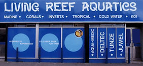Photo of the outside of Living Reef aquatics and reptiles.
