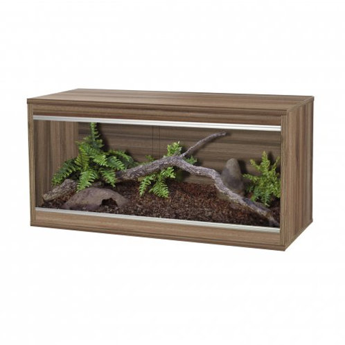 Vivexotic Repti-Home Vivarium - Medium Walnut 86x37.5x42cm