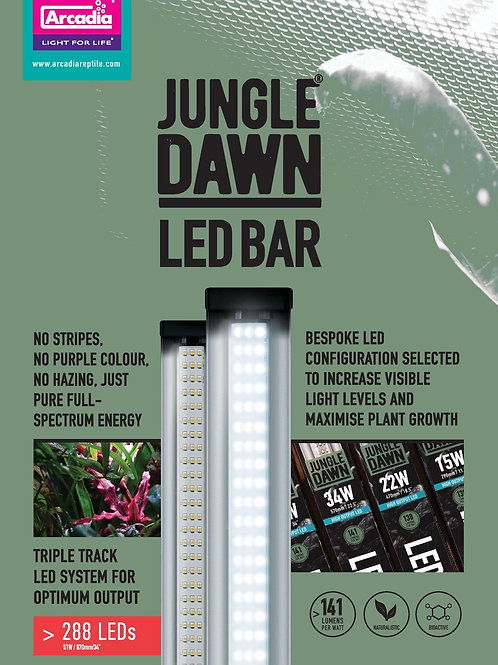 Jungle Dawn LED Bar 290mm - 870mm