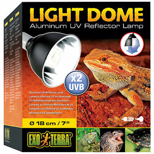 Exo Terra Light Dome Uv Reflector Lamp 18cm