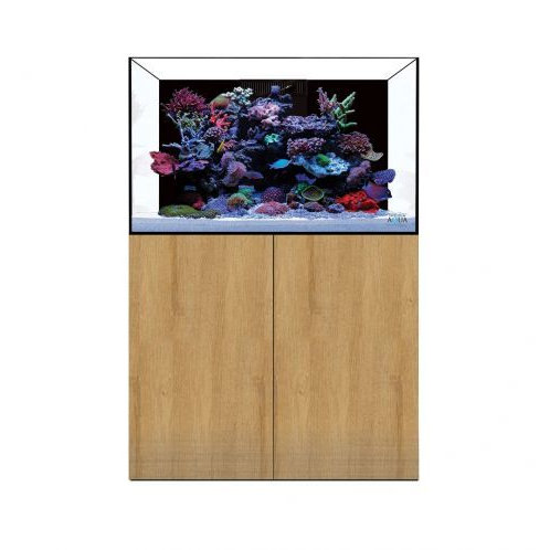 EA Reef Pro 900 and Cabinet in natural oak