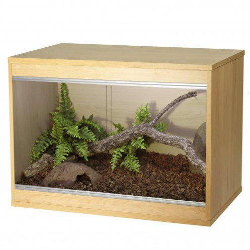 Vivexotic Repti-Home Vivarium - Small Oak 57.5x37.5x42cm