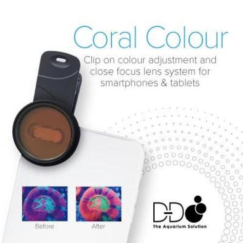 Coral Colour photo correction lenses for smartphone