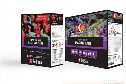 Red Sea Reef Mature Kit & Marine Care Test Kit Combo