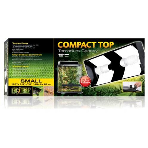 Exo Terra compact top terrarium canopy Small