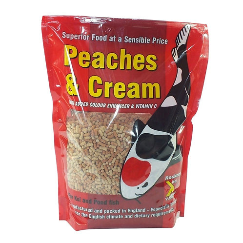 Kockney Koi Peaches & Cream Koi Food 2.5kg