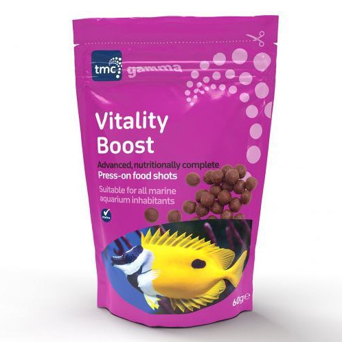 Gamma Vitality Boost 60g - press on food shots