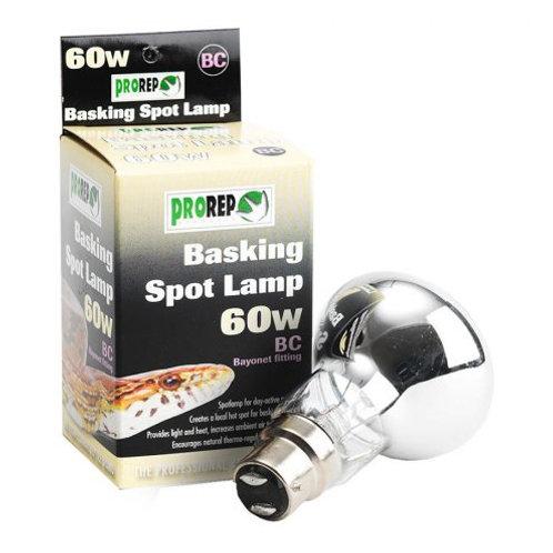 Pro Rep Basking Spot Lamp 60w BC