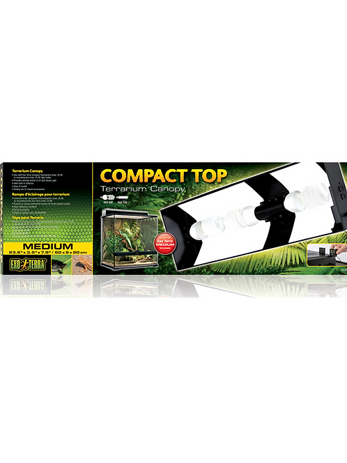 Exo Terra compact top terrarium canopy Medium