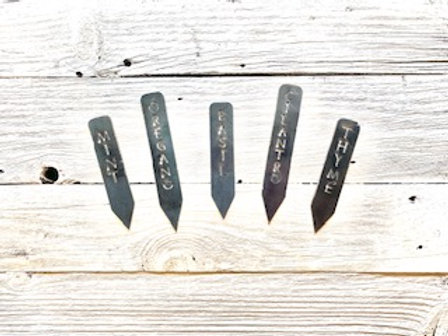 Herb Garden Markers - Set of 5