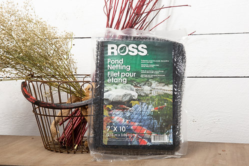 Ross 16570 Netting Protective Cover for Ponds, Pools, and Hot Tubs, 7 feet x 10