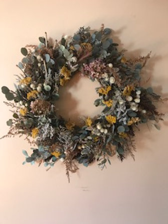 All Natural Preserved Eucalyptus Wreath