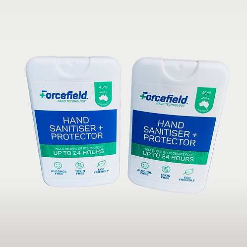 Hands + Protector Spray (45ml flat) | 2 PACK