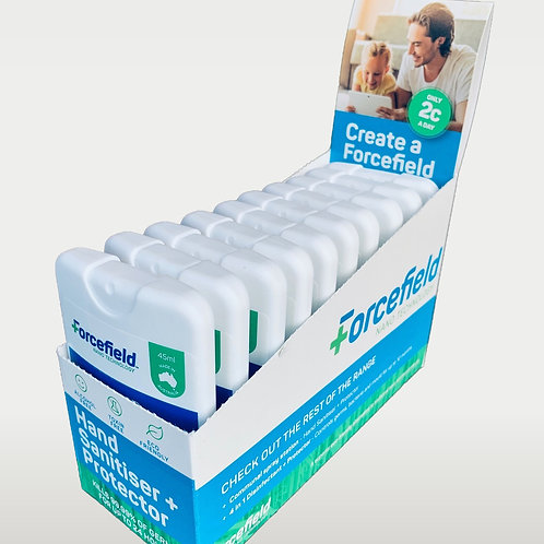 Hands + Protector Spray (45ml flats box of 10)