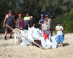 First Wave Nth End Sth Stradbroke Island