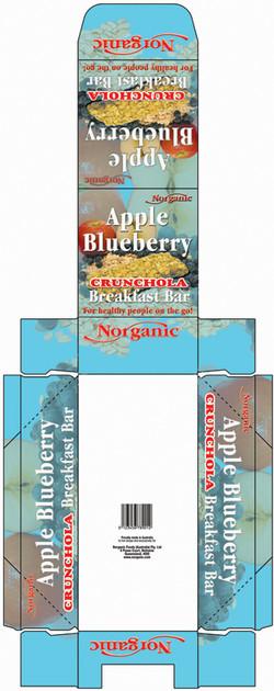 Ap-Blue Crunch Display Box