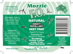 new mozzie label copy
