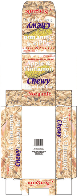 Apple_Cin Chewy carton#129F