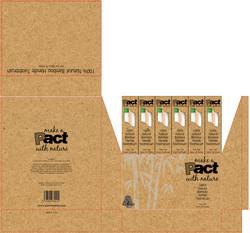 (1) Pact TOOTHBRUSH DISPLAY BOX