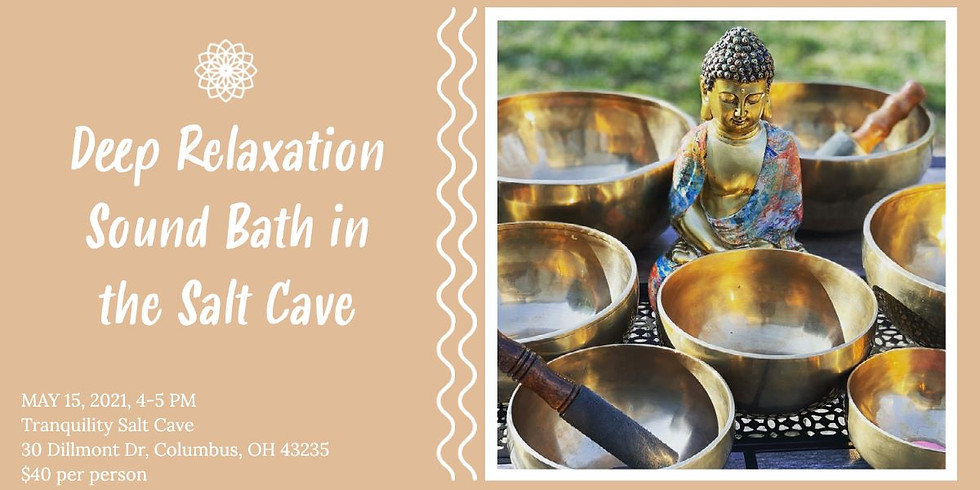Deep Relaxation Sound Bath in the Salt Cave