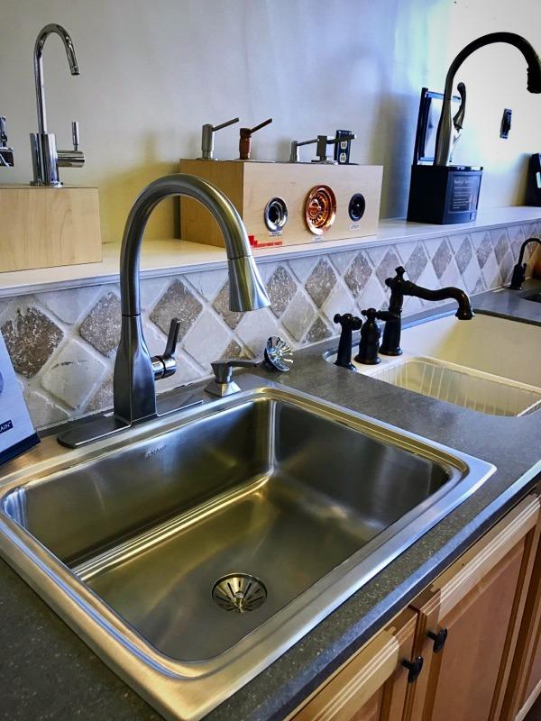 Delta Faucet w/ Elkay sink