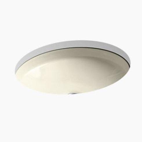 Kohler Canvas - Sugar Cane - Undermount Vanity Sink