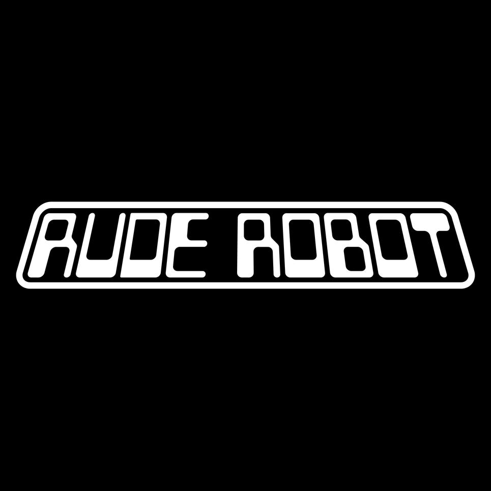 Rude Robot Scifi Logo