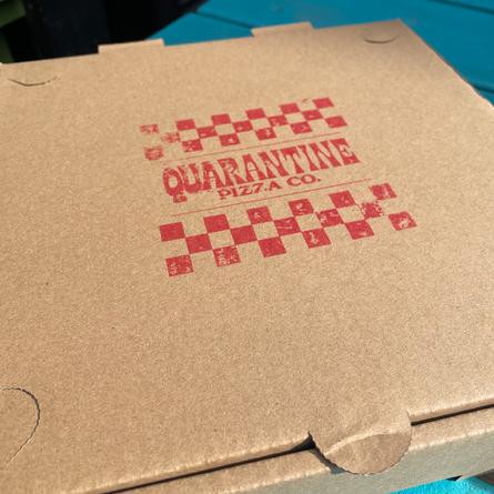 Quarantine Pizza, Box