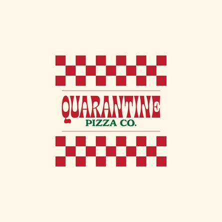 Quarantine Pizza, Logo